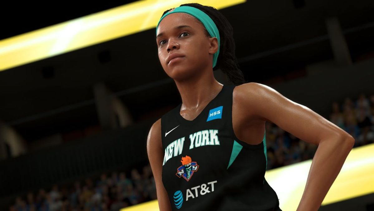 Image of WNBA player