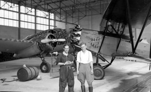 Italiensk mekaniker og ego i hangaren