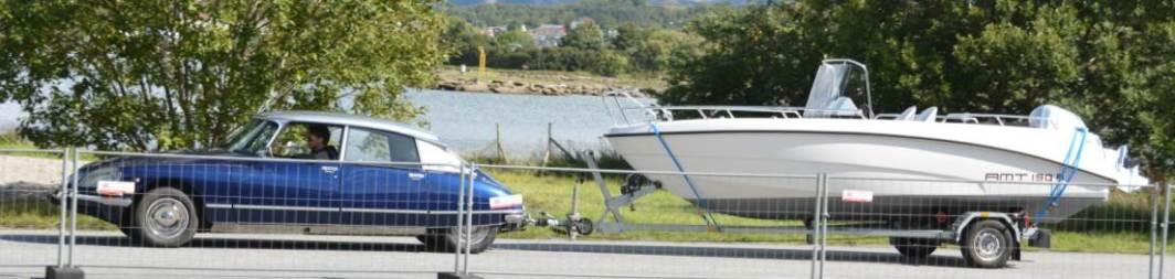 Denne gang hadde vi også utstilt noen båter