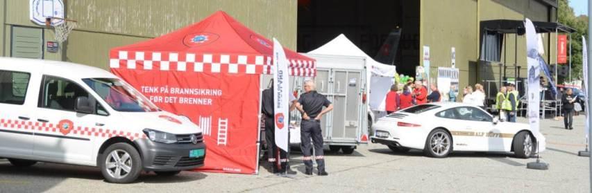 Rogaland Brannvern og HOFF sjåførskole hadde stand