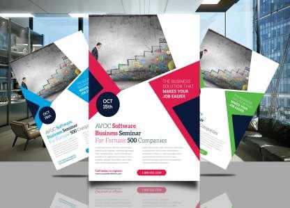 AVOC Software Flyer Template