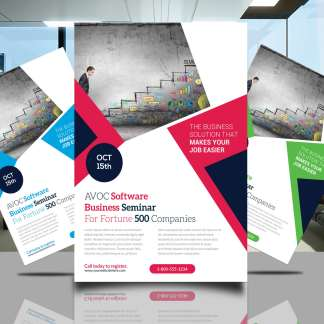 AVOC Software Flyer Template