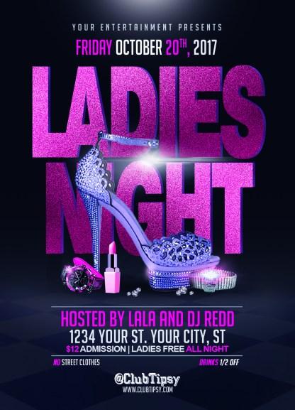 Ladies Night (Free) Flyer Template