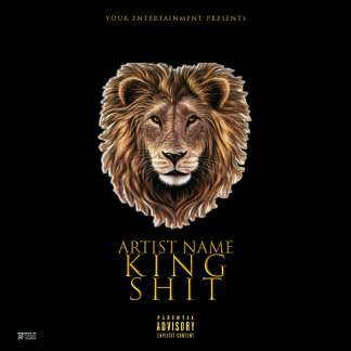 King Shit Mixtape Cover Template