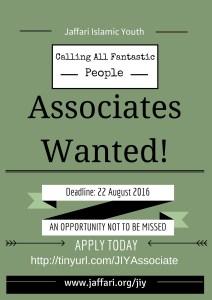 Associates wanted