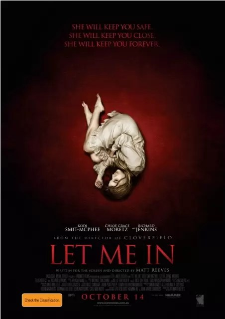 Let Me In Official Movie Poster