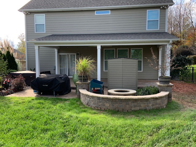 covered porch builder in charlotte nc