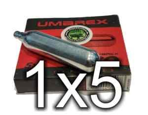 1 x UMAREX CO2 Kapsel Patronen bei Jagdabsehen