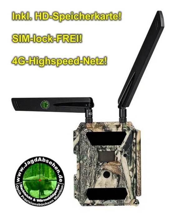 DÖRR 12M SNAPSHOT CLOUD 4G Wildkamera Infrarotblitz 20m-HD-Nachtsicht