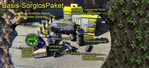 Jagdabsehen INFIRAY CH50-2021 Basis-SorglosPaket-Wärmebildvorsatzgerät-Plug & Play 3