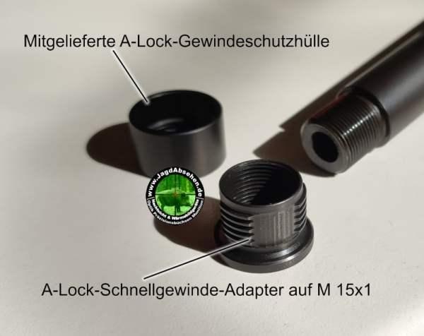 Montage A-Lock A-Tec bei Jagdabsehen 2