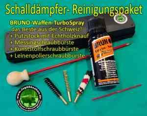 Schalldämpfer- Reinigungspaket spezial von Jagdabsehen