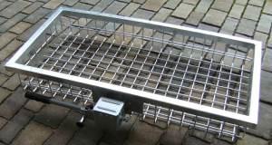 StVo-sicherer Highend Heckträger bei Jagdabsehen 100 x 50 x 14,5 cm 3