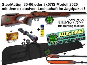 Steelaction HM Lochschaft Alles-drin-JagdPaket von Jagdabsehen