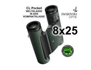 Swarovski Wander-Fernglas CL Pocket 8x25 bei Jagdabsehen 1