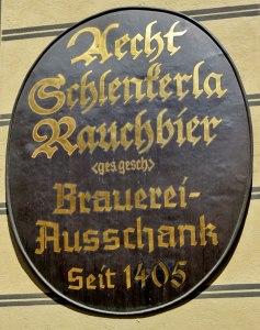 Schlenkerla Rauchbier Bamberg Germany