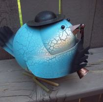 Blue Bird Garden Ornament
