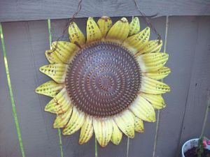 Sun Flower Garden Ornament