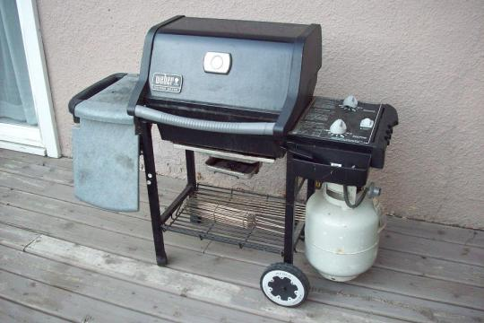 Winter Grilling with a Weber Grill