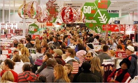 Cyber Monday shopping mania