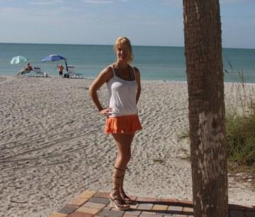 Florida vacation at the beach