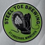 Steel Toe Brewery Sticker
