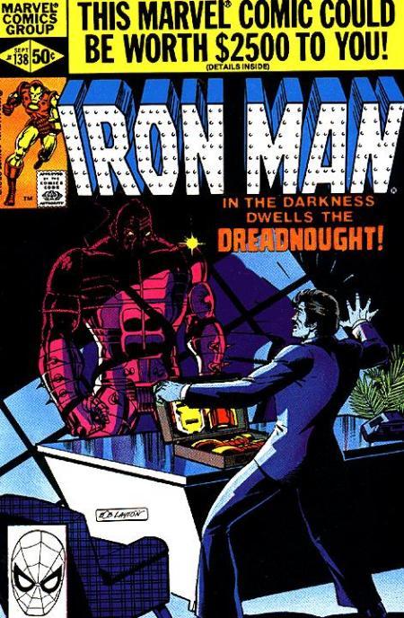 Iron Man Comic Book