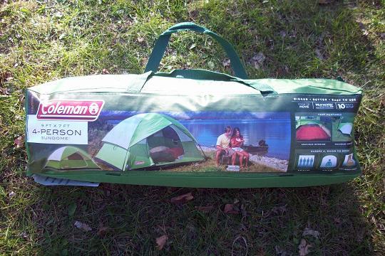 Coleman 4-person Sundome tent review