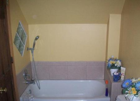 Paint your bathroom for a quick fix