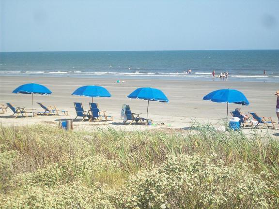 A gorgeous beach in South Carolina
