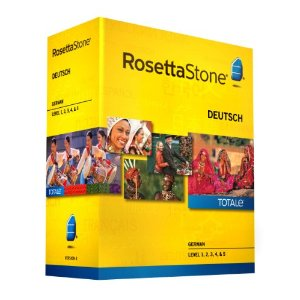 Rosetta Stone German Level 1-5 Set