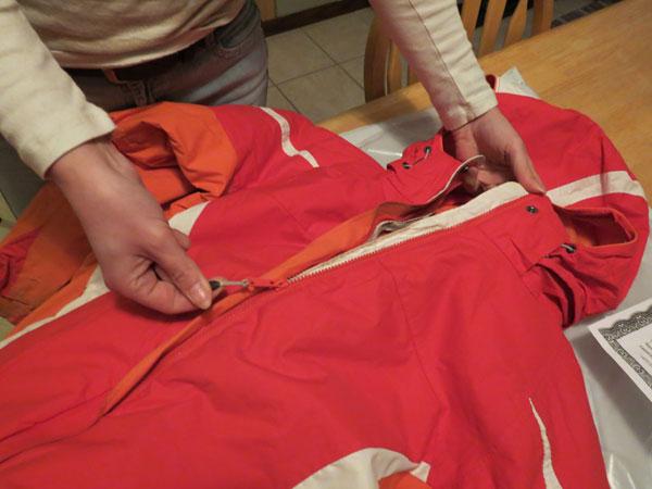 Columbia Sportswear Lifetime Warranty Repair