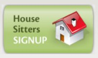 House Sitters Sign Up page