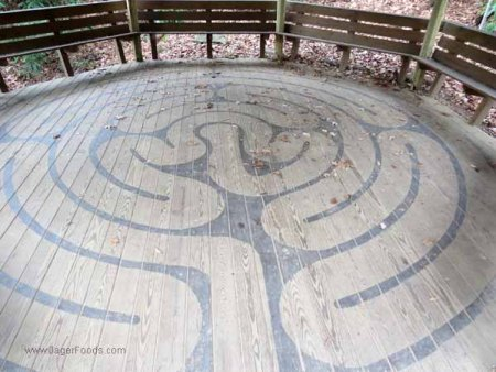 Labyrinth at Montreat
