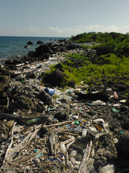 Garbage in Belize