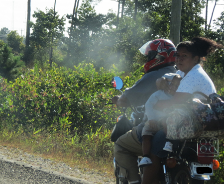 Motorcycle Riding Belize