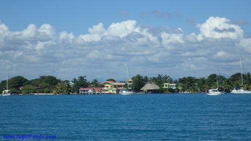 Placencia Village and Harbor