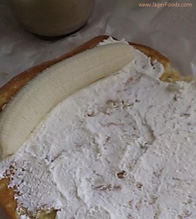 Banana and cream jelly roll
