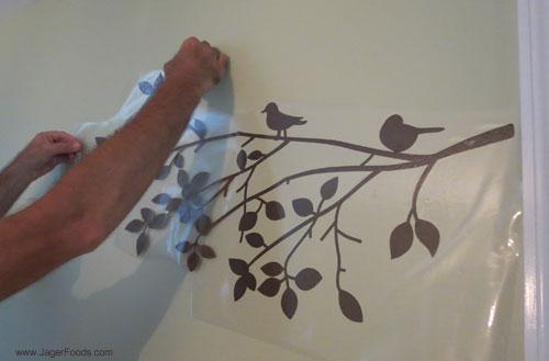 Placing Vinyl Art
