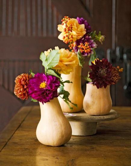 gourd vases for fall