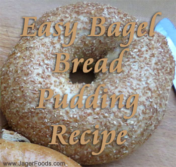 Easy Sweet Or Savory Bagel Bread Pudding Recipe