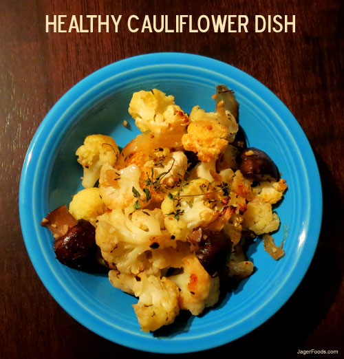 Easy and Healthy Cauliflower Recipe