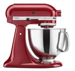 Stand up mixer in red
