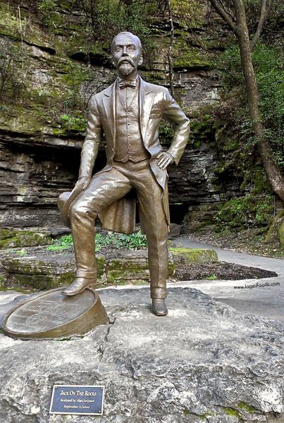 Jack Daniel's Statue in Lynchburg, TN