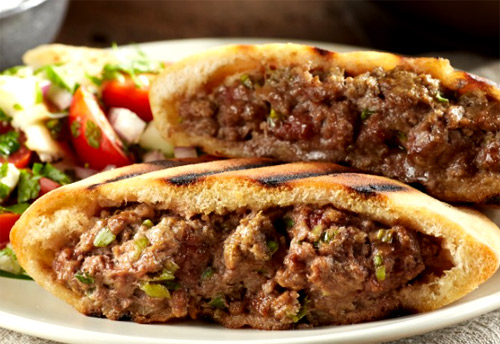 Grilled Lamb Burgers is an easy ground lamp recipe.