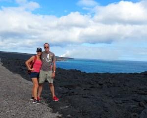 Nick and Silke in Hawaii