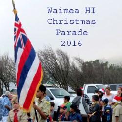 Christmas Parade Waimea HI