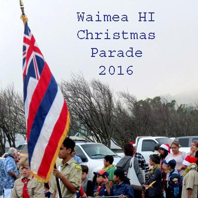 Waimea Christmas Parade 2016