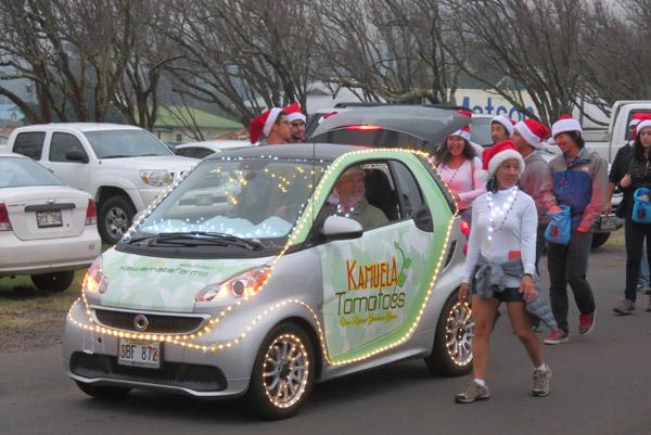 Waimea HI Christmas Parade 2016
