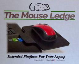 Laptop Mouse Ledge Review